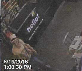 Additional Photo of Suspect Theft/Shoplifting Unknown 1